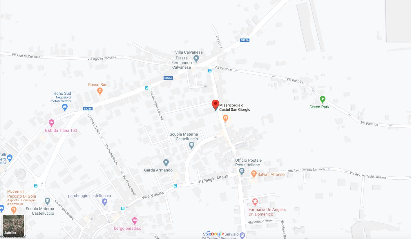 Mappa di Castel San Giorgio